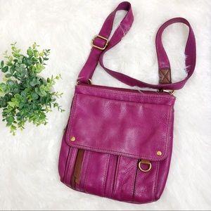 Fossil | Morgan Traveler Leather Messenger Bag